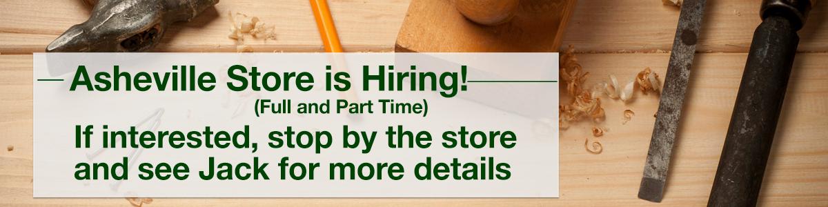 Klingspors Woodworking Shop Asheville is hiring | Jobs | NC
