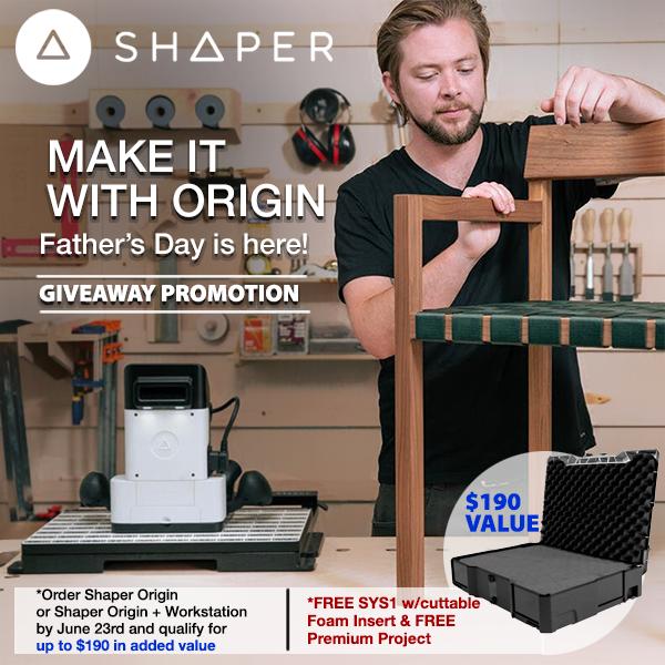 Order Shaper Origin + Workstation June Promo